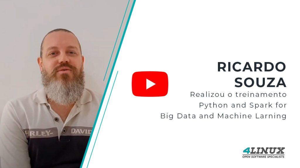 Aluno que realizou o treinamento Python And Spark for Big Data and Machine Learning